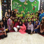 Birds of Feather experienced and enjoyed by Nursery section (2016-17) at Witty World, Bangur Nagar