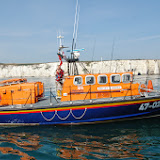 Poole's Tyne class lifeboat  Sunday 14 July 2013 Photo: RNLI Poole/Dave Riley