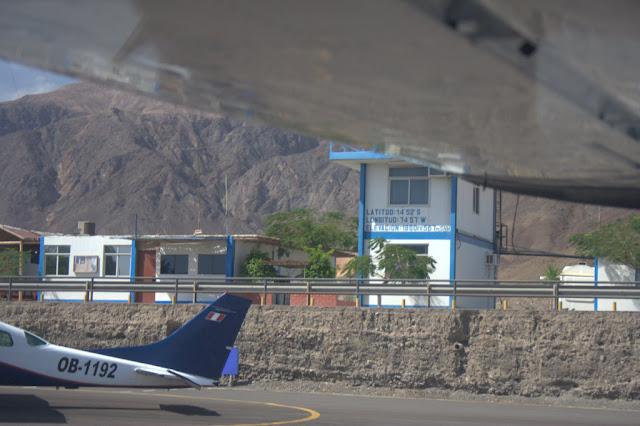 Avionetas en Nasca, Perú