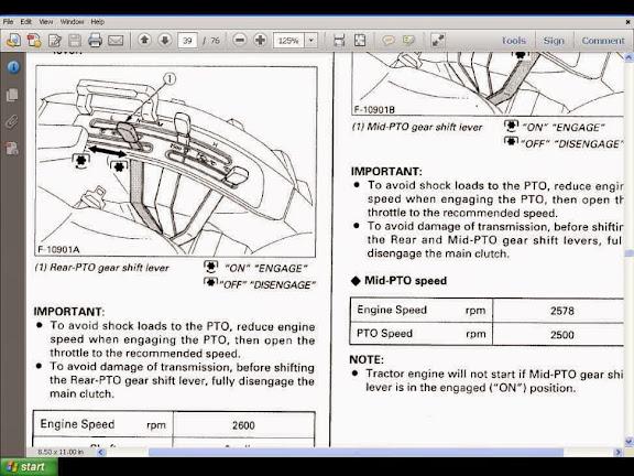 Kubota B7800 Parts  U0026 Operations Manuals