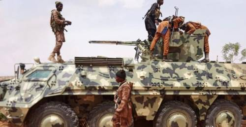 Boko Haram Releases Pix Of Armoured Tanks, Operation Vehicles Captured From Army