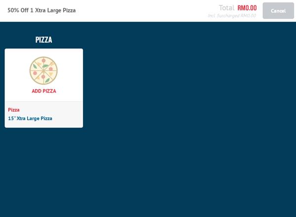 pilih pizza
