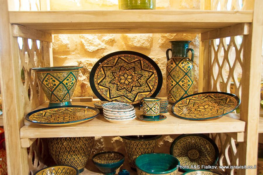 В магазине сестер молчальниц в Бейт Джамале. Экскурсия гида Светланы Фиалковой.
