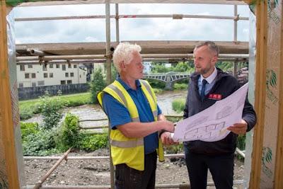 Derelict riverside site set for housing development