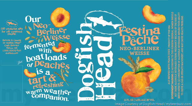 Dogfish Head Adding Festina Pêche Cans