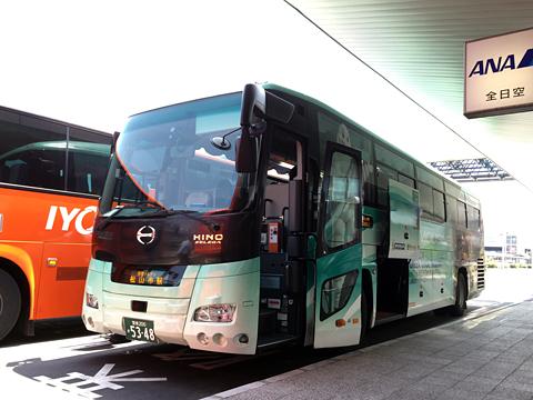 伊予鉄道「松山空港リムジンバス」 5348