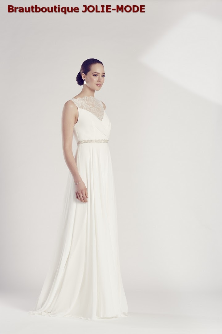Jolie Mode Schlicht Brautmode Brautkleider Hochzeitskleider