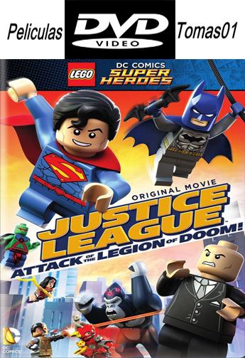 LEGO: Liga de la Justicia, Ataque a la Legión del Mal (2015) DVDRip