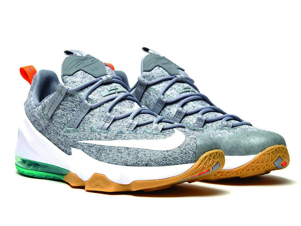 Closer Look at Nike LeBron 13 Low No 8