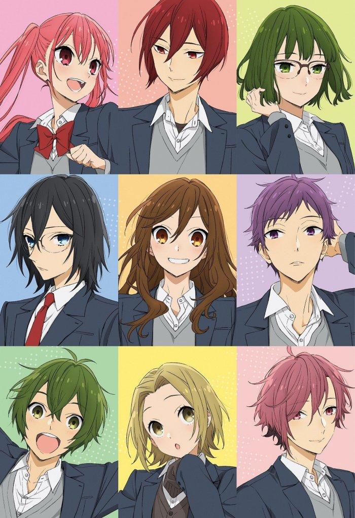 Bilibili dan Sushiroll Resmi Tayangkan Anime Horimiya untuk Region Indonesia