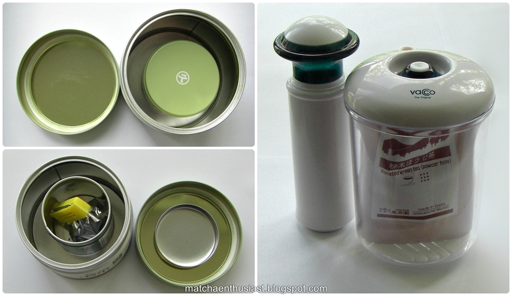 Storage of Matcha