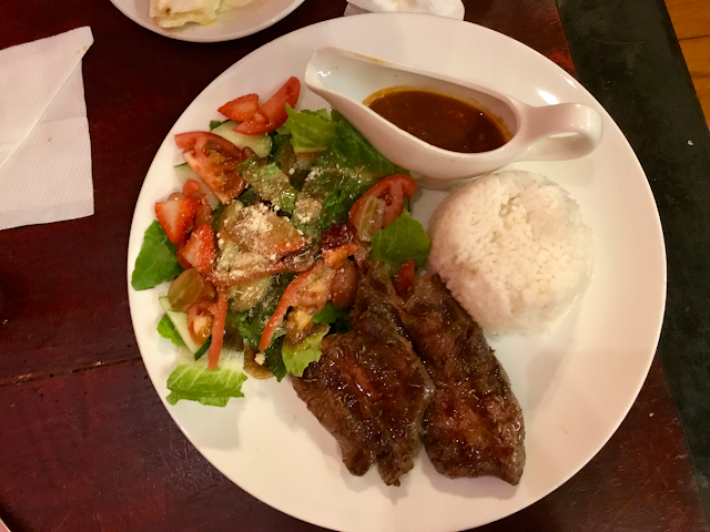 secret garden resto and cafe in baguio city - beef steak