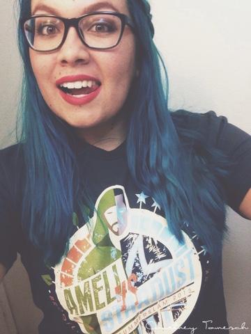 Courtney Tomesch Amell vs Stardust SummerSlam 2015 Tshirt