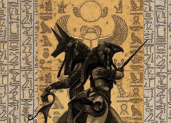 OSIRIS O deus do antigo egito