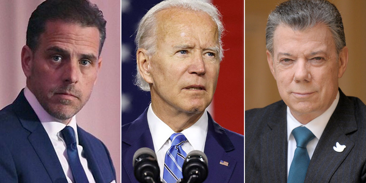 Hijo de Biden habría usado relaciones de su padre para hacer negocios en Colombia