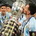 Di María faz o gol e Argentina é campeã da Copa América