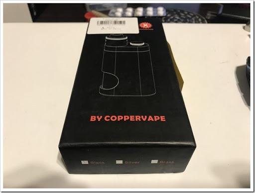 IMG 5133 thumb - 【やだ…しゅごい】Coppervape BF Mechanical Mod Kit(カッパーベイプビーエフメカニカルモッドキット)のレビューしようと使ってみたら、構造がものすごい画期的だったのでビビった!この機構は今後全てのスコンカーで採用されるべき!【クローン屋さんだけどね】