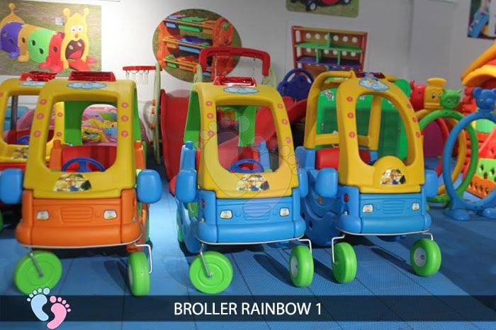 Xe chòi chân cho bé Broller Rainbow 1 3