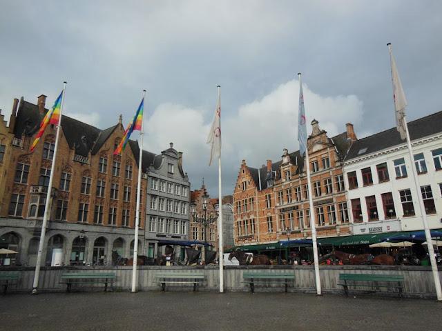 Marktplatz of Brugge