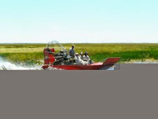 Air boating on the wetlands