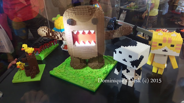 Nano Blocks figurines