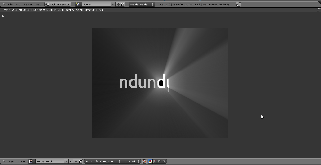 Render Multi Layer untuk Compositing Blender 2