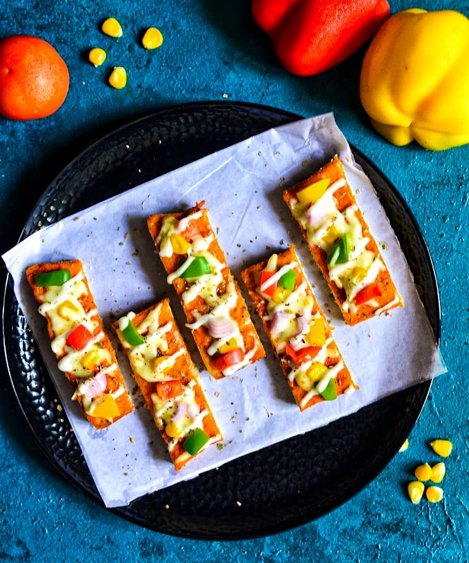 Pizza Fingers Recipe | Breakfast Care