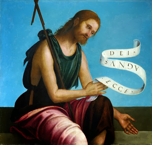 Lorenzo Costa - Saint John the Baptist