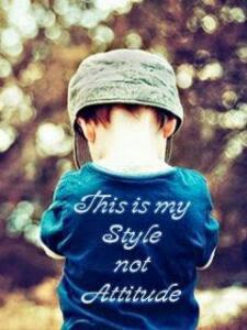 Style vs Attitude dp for boys