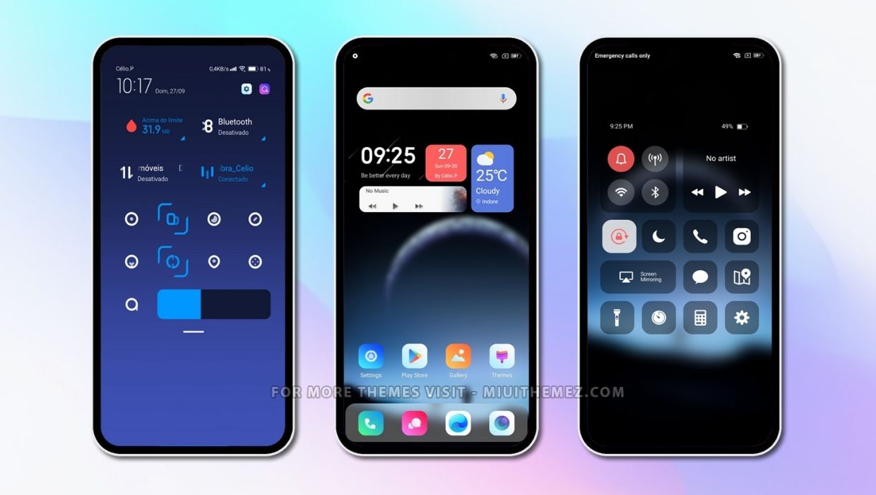 Best MIUI Theme for MIUI 11 and MIUI 12