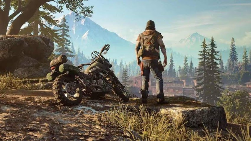 Saliamo a bordo della moto di Days Gone