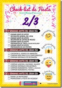 Check list Fiesta - hoja 2