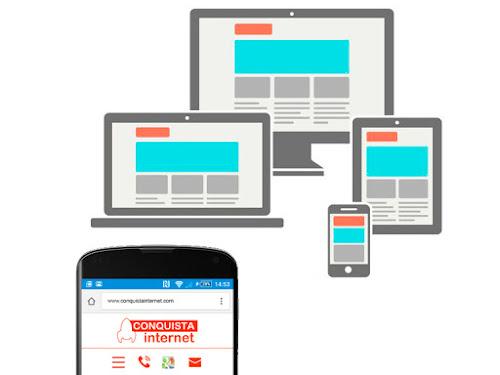 Dibujo de diseño web responsive