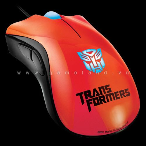 Razer ra mắt bộ sản phẩm ăn theo Transformers 3 8