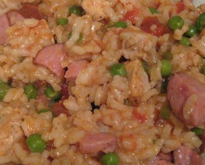 İspanyol Tavuk ve Chorizo Paella Tarifi