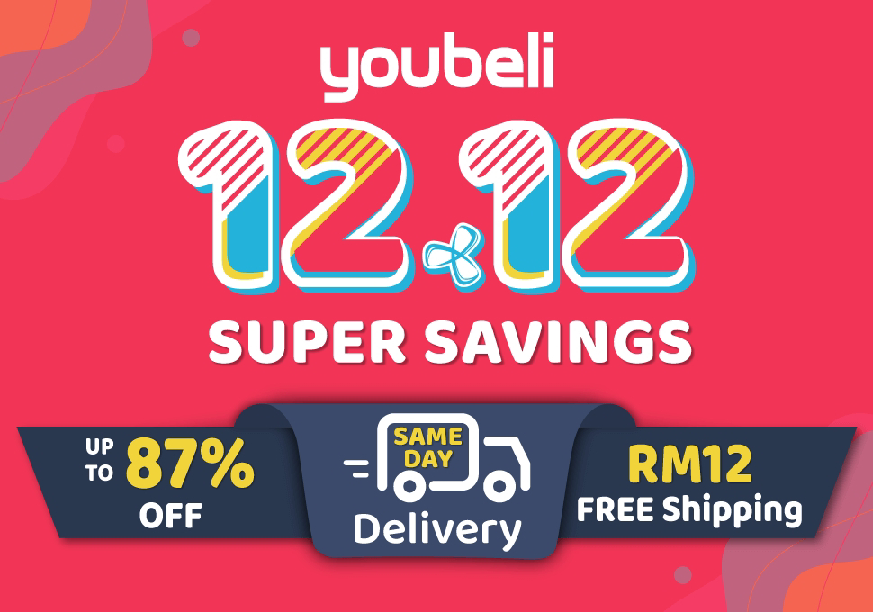 Youbeli offer's up to 87% OFF on 1212 & Pre Christmas Sales