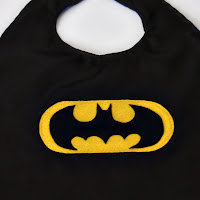 Batman cape close-up by SweeterThanSweets