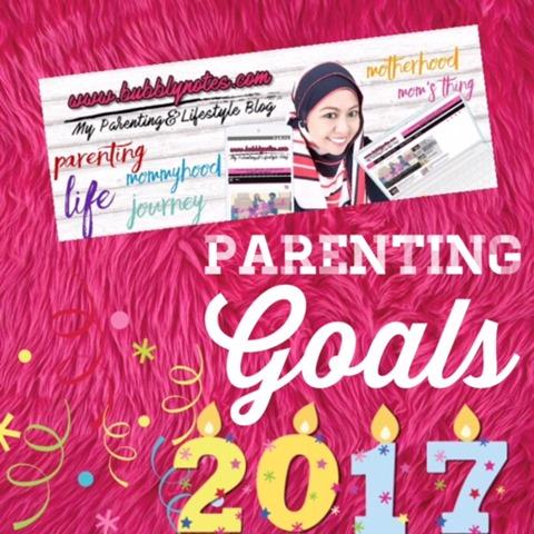 PARENTING GOALS 2017
