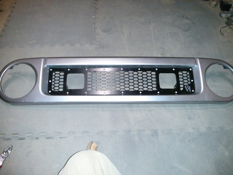 Rigid Industried LED Upper Grille Kit install - Toyota FJ Cruiser Forum