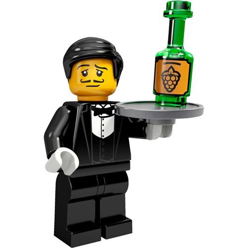 LEGO Minifigures Series 9 Waiter (Bồi bàn)