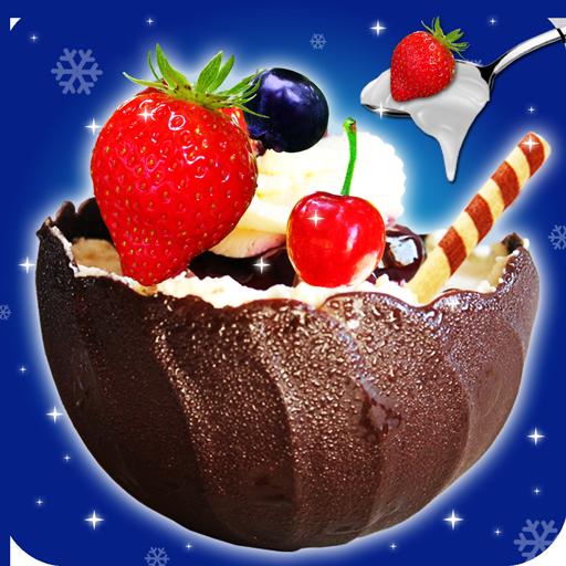 Balloon Chocolate Bowls Maker! Dessert Master Cook (game)