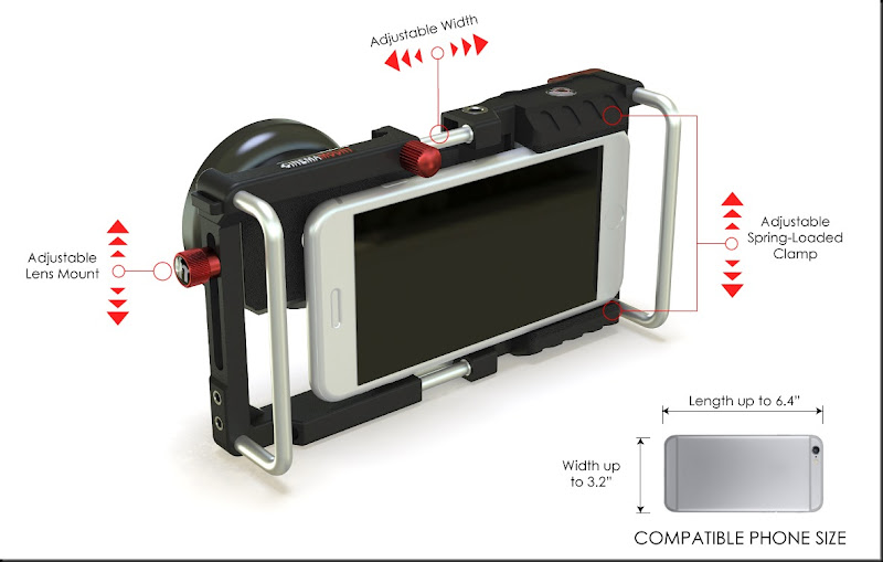 smartphone rig cinema mount