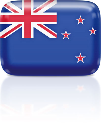 New Zealand flag clipart rectangular