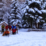 Weihnachten - Schneeschuhw. Latscher Alm 28.12.13
