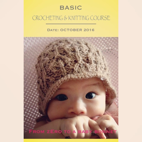 Basic Crocheting and Knitting Course Launched!