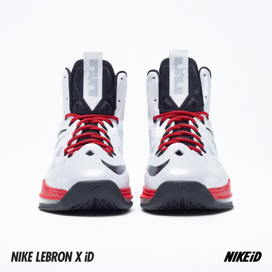 ... Two LeBron X iD Samples WhiteTealPink 038 USA Alternate ... dd93a41c31