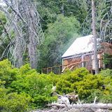Cabin next to Upper Glen Falls