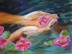 Romantisme à fleur d'eau 40 x 50 Septembre 2006