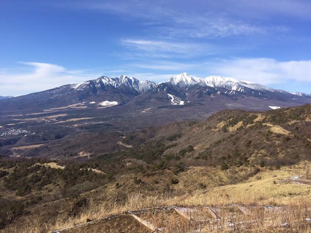 飯森山山頂からの八ヶ岳