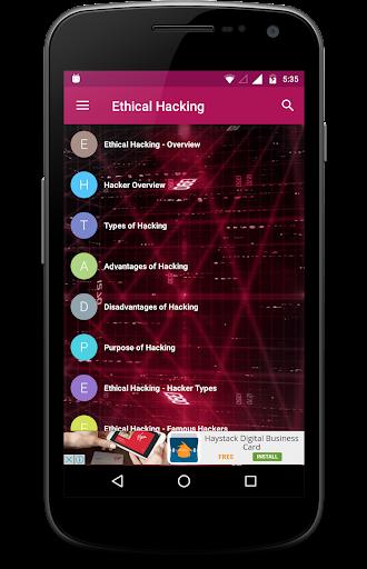 Ethical Hacking 2.1 screenshots 1